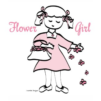 Flower Girl tee shirt