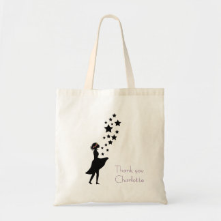 Flower Girl Silhouette Small Bag