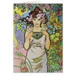 Flower Girl Stationery Note Card