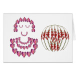 Flower Girl : SweetHeart by Pink Petals Greeting Card