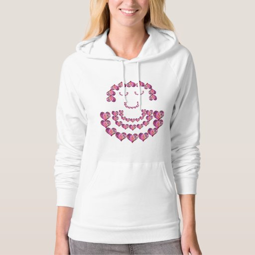 Flower Girl : SweetHeart by Pink Petals Hooded Pullover