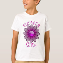 Flower Girl T Shirt