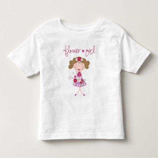 Flower Girl T Shirt