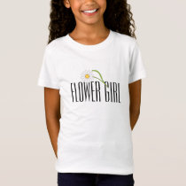 Flower Girl T-Shirt - Daisy