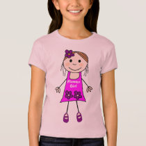 flower girl,team bride,bride T-Shirt