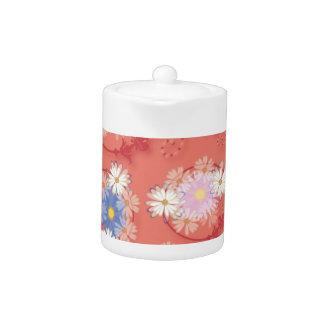 flower girl teapot