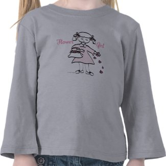 Flower Girl Tee Shirts