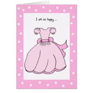 Flower Girl Thank You Card