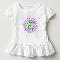 Flower Girl  Toddler Ruffle Wedding Dress