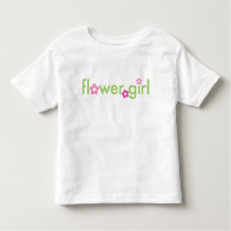 Flower Girl - Toddler T-Shirt