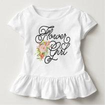Flower Girl Toddler Tee | Bridesmaid