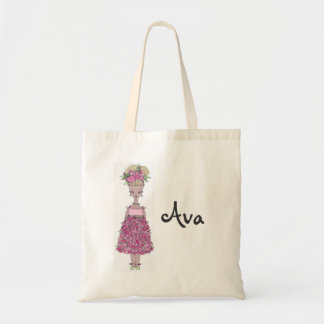 Flower Girl Tote Bag - Personalize (Ava)
