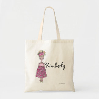 Flower Girl Tote Bag - Personalize - Kimberly