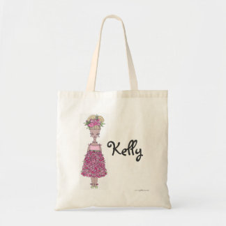 Flower Girl Tote Bag - Personalized - Kelly