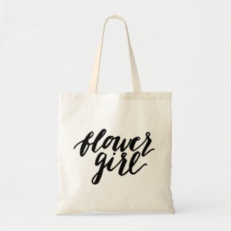 Flower girl Tote Budget Tote Bag