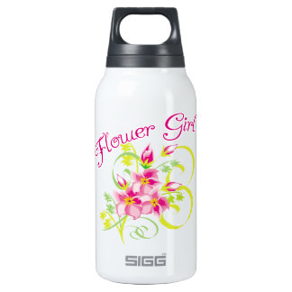 Flower Girl Tropical Flower 10 Oz Insulated SIGG Thermos Water Bottle