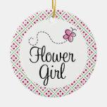 Flower Girl Wedding Keepsake Ornament Gift