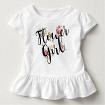 Flower Girl Wedding Toddler T-shirt