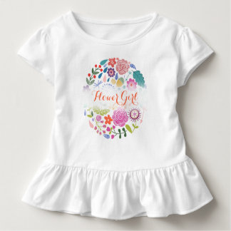 Flower Girl Wedding Toddler T-shirt