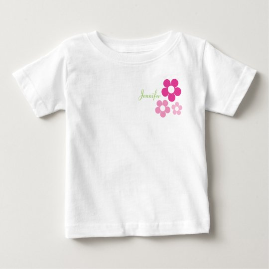 Flower Girl with Name - Infant T-Shirt