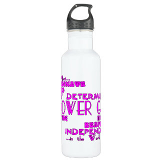 Flower Girls Thank You Wedding Favors : Qualities Stainless Steel Water Bottle