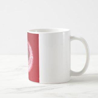 Flower globe abstract coffee mug