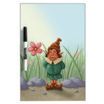 flower gnome garden Dry-Erase boards