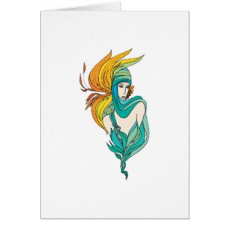 flower goddess cards