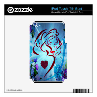 Flower Godess.png iPod Touch 4G Decal
