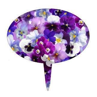 Flower Graphic Cake Topper