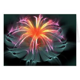 Flower Greeting (Blank Inside) Card
