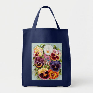 Flower Grocery Tote Tote Bag
