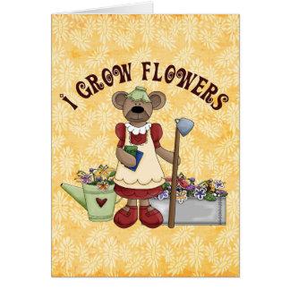 Flower Grower Card