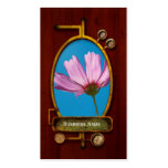 Flower - Growing up in Philadelphia Double-Sided Standard Business Cards (Pack Of 100)