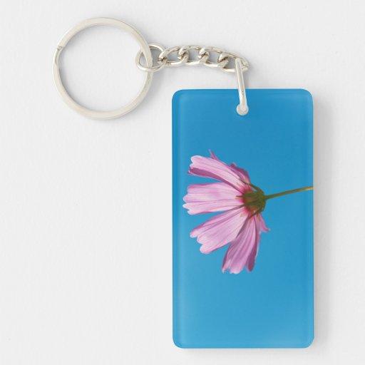 Flower - Growing up in Philadelphia Double-Sided Rectangular Acrylic Keychain