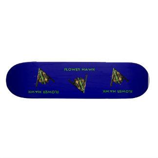 Flower hawk skateboard