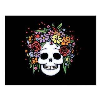 Flower Head Postcard