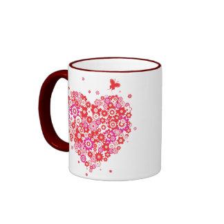 Flower Heart 1 Mug