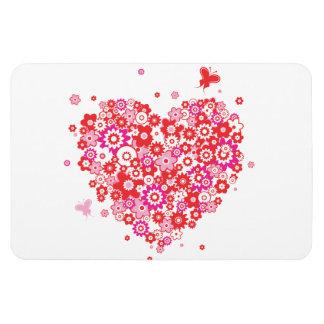 Flower Heart 1 Pemium Magnet