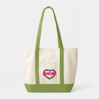 Flower Heart for Mom Tote Tote Bag