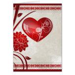 Flower Heart Greeting Card