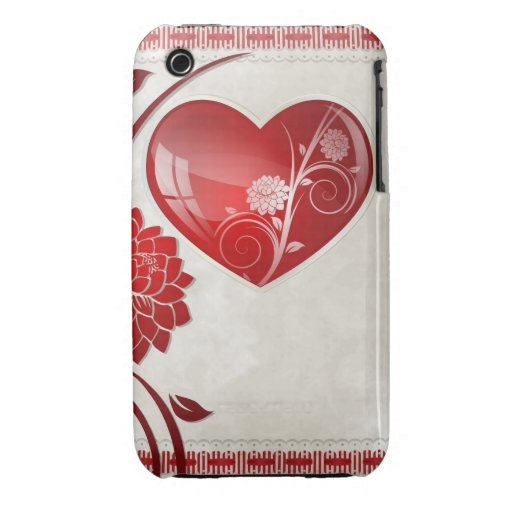 Flower Heart iPhone 3 Cover