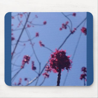 Flower Heart Mouse Pad