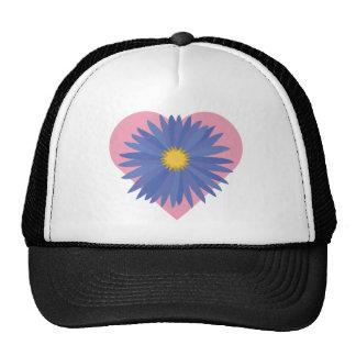 Flower Heart Trucker Hat