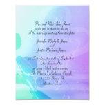 Flower & Heart Wedding Invitation