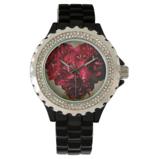 Flower Heart Wrist Watch
