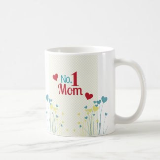Flower Hearts Mother's Day Mug