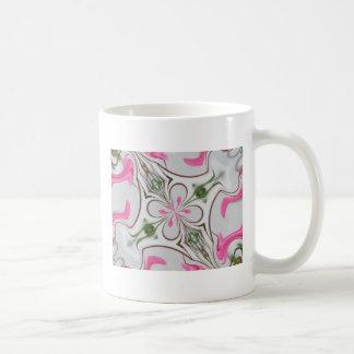 flower hearts original design classic white coffee mug