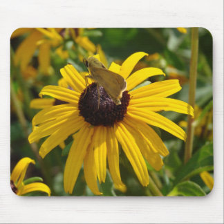 Flower Hopping Mouse Pads