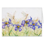 Flower Hopping Stationery Note Card